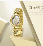2017 het Merk van het Polshorloge van de Armband van Belbi van de AMERIKAANSE CLUB VAN AUTOMOBILISTEN voor de Weerstand van het Water van het Horloge van het Roestvrij staal van de Diamant van de Bloem van Dames
