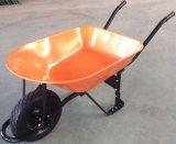 Carrinho de mão de roda resistente da construção para a venda por atacado