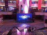 Visualizzazione di LED dell'interno di colore completo P7.62 che fa pubblicità allo schermo