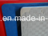 Белый цвет пила по металлу коврик для Taekwondo, карате