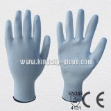 PU Coated Glove 15g Nylon Liner White (5537)