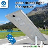 luz de calle solar integrada al aire libre de 60W LED con la batería LiFePO4