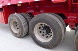 40FT半3つの車軸容器の交通機関のための平面骨組トレーラー