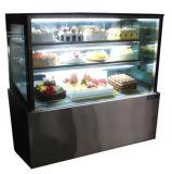 2 слоя пекарня холодильник охладитель торт показывает выставку с индикатором