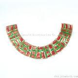 Мода цветов Sequined кружевной ткани кольца валика для одежды Одежда аксессуары
