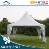 Tela Structures 6mx6m White Canvas Sidewall Hang Ceiling Pagoda Tent