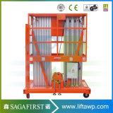 20FT 8m zuhause Aluminiumlegierung-Arbeits-Aufzug-Plattformen