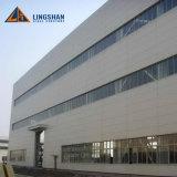 Estructura de acero industrial vertida/almacén/taller