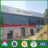 Estrutura de aço pré-fabricados para a construção de escritórios e lojas com edifício Multistory