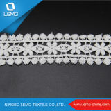 Flower bianco Design Chemical Lace per Dress