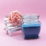 結婚式のサービス品カラー香料入りの安いガラス瓶の蝋燭