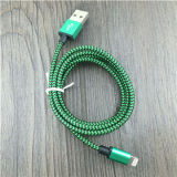 от 1m до 3m подгонянный кабель USB мобильного телефона длины Nylon