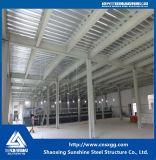 Vertente estrutural do edifício industrial da extensão da venda quente única para a oficina