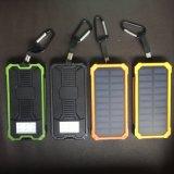 Cargador portátil celda solar 10000mAh Banco de potencia con brújula