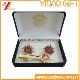 Kundenspezifischer Firmenzeichen-Goldmanschettenknopf für Förderung-Geschenk (YB-LY-TC-01)
