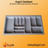 Plateau en plastique de couverts de vaisselle de cuisine d'ABS