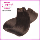 Hot Selling 2016 Fashion Factory Vente en gros Virgin Remy Brown Color Stragiht Human Hair