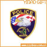 Los guardias de seguridad y la Justic coser en parches de corte láser para prendas de vestir (YB-E-003)