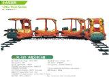 16 Trein van het Pretpark van de Luxe van zetels De Mini Houten Elektrische