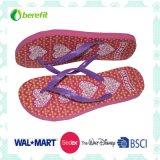 Slippers der Frauen mit PET Sole und PVC Straps, Bright Printing