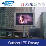 Visualizzazione di LED esterna di luminosità P6 di minuto 6000CD altamente