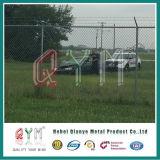 Pvc bedekte de Gelaste Omheining Panles van de Link van de Ketting van de Luchthaven van het Netwerk met een laag