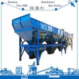 Máquina de tratamento por lotes concreta de tratamento por lotes concreta da planta Plb4800 com 3-4 escaninhos