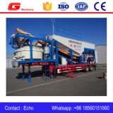 50m3/H Mobile Concrete Mixing Seedling with Car System Control