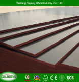 Two Times Pressed 4FT*8FT Marine Plywood with Black/Brown Film for Construction