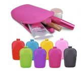 Caramella Color Mini Silicone Bag per Cosmetics/Mobile Phone/Pens