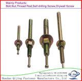 Dynamicdehnungs-Schrauben-Ankerbolzen, der Keil-Anker-Hit-Anker hammert