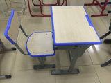 Únicas mesa e cadeira ajustáveis coloridas populares do estudante da escola