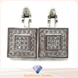 Elegante 925 Silver Cufflink Silver Jewelry für Men A11c002