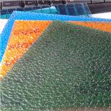 Folha gravada desobstruída do policarbonato de Lexan por os anos de /10 da telhadura (clarabóias) Unbreakable/que não amarelam