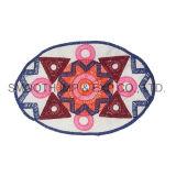 Оптовая торговля Цветные аксессуары для одежды овальной формы Handwork хлопка этнических вышивка патч