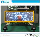 Pantalla al aire libre de la muestra P3 P4 P5 LED de los primeros LED del taxi