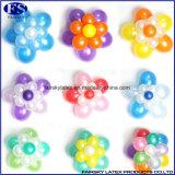De ronde StandaardBallons van het Latex van de Kleur Natuurlijke voor Decoratie
