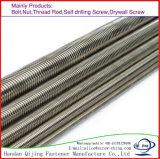 L'acciaio inossidabile filettato Rohi tutti dell'acciaio inossidabile Ss201 SS304 SS316 del Rod filetta il bullone della vite prigioniera
