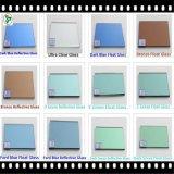 緑/青銅/染まるガラス灰色/青のフロートガラス