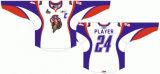 Customized Quebec Grande Liga de Hóquei Jr Hull Olympiques 2009-2012 Home/ Rua Hóquei no Gelo Jersey