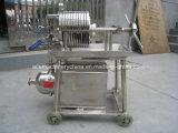 산업 스테인리스 자동적인 식용 기름 여과 프레스 격판덮개와 프레임 필터 기계