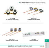 حارّ عمليّة بيع الصين مصنع مختلفة معياريّة طبيّة غاز انتهائيّة/مأخذ [أ2/ير/فك]