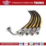 1 и 2 дюйма экранирующая оплетка проводов гидравлического шланга DIN EN 853 2SN резиновый шланг
