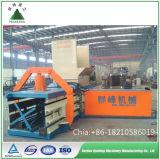 Resíduos de aparas de papel automática hidráulica Enfardadeira de papelão /Auto-Strapping a máquina