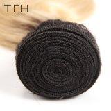 ブラジルのバージンのHuaman Omberの毛の織り方1b/613の金髪ボディ波のRemyの毛の拡張2調子の毛(TFH18)