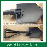 Лопата лопаткоулавливателя лопаткоулавливателя лопаткоулавливателя железнодорожная стальная складывая воинская