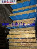Wasserdichtes Rock Wool Sandwich Panel für Roof und Wall
