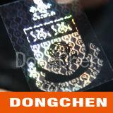 Création de logo personnalisé Pet Square Security Hologram Label