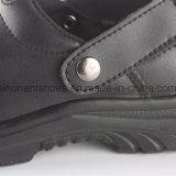 Pattini del sandalo di sicurezza del cuoio genuino con la mascherina d'acciaio