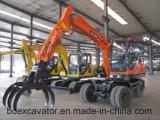 Máquina de madeira de Loaidng das máquinas escavadoras da roda de Baoding